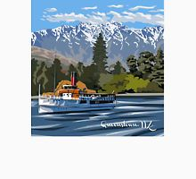 Queenstown, Remarkables and Earnslaw, NZ T-Shirt