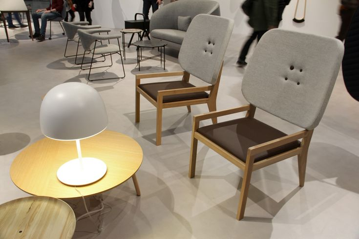 GamFratesi named guest of honour at stockholm furniture fair 2014 Manga  easychair  for Swedese