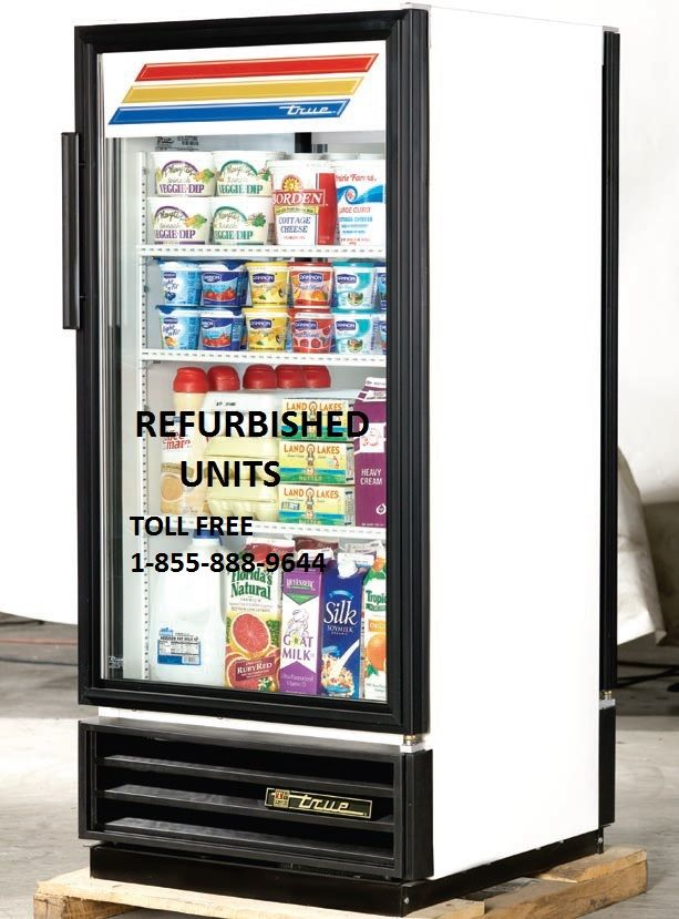 TRUE GDM 10 PT GLASS DOOR COOLER ONLY $599.00 CAD.  DELIVERY ACROSS CANADA.  PLEASE VISIT OUR WEBSITE FOR DETAILS www.ancasterfoodequipment.com