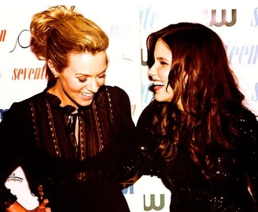 Hilarie Burton & Sophia Bush