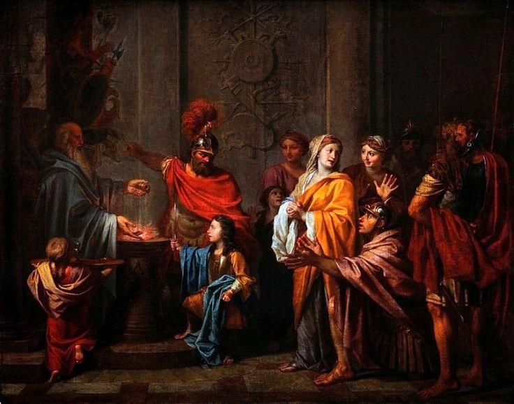 The oath of Annibal, Noël Nicolas Coypel