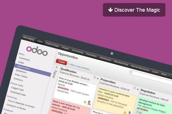 Discover the magic of Odoo!