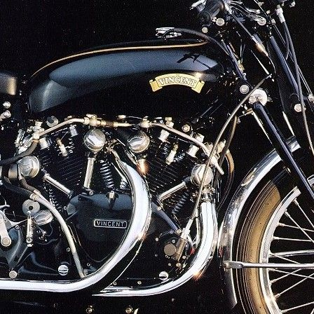 Vincent (HRD) Black Shadow 1000cc, 1955.    Vincent Motorcycles began with the purchase of HRD Motors Ltd, by Phil Vincent in 1928. HRD was founded by British Royal Flying Corps pilot, Howard Raymond Davies.