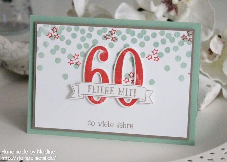stampin up geburtstagskarte karte birthday card stempelmami stempelset so viele jahre 1