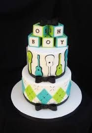 guitar baby shower cakes - Google Search