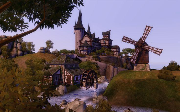 Les Sims Medieval - Décor