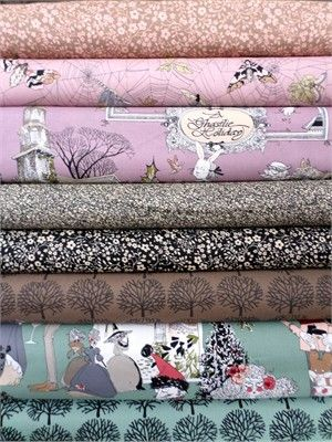 Beautiful and imaginative flannel. Flannel is not just for babies! Many patterns and color combinations and neutrals. A must for your stash.