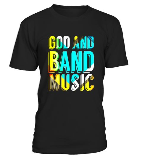 "# God and Band Music, Christian Musician Colorful Music Tshirt .  Special Offer, not available in shops      Comes in a variety of styles and colours      Buy yours now before it is too late!      Secured payment via Visa / Mastercard / Amex / PayPal      How to place an order            Choose the model from the drop-down menu      Click on ""Buy it now""      Choose the size and the quantity      Add your delivery address and bank details      And that's it!      Tags: Cool retro style tee…"