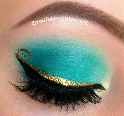 Princess Jasmine Makeup :D