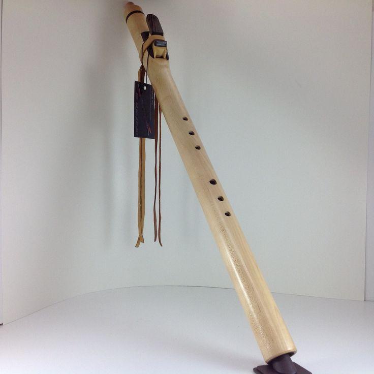 Tim Blueflint Curley Maple Flute in Key of D