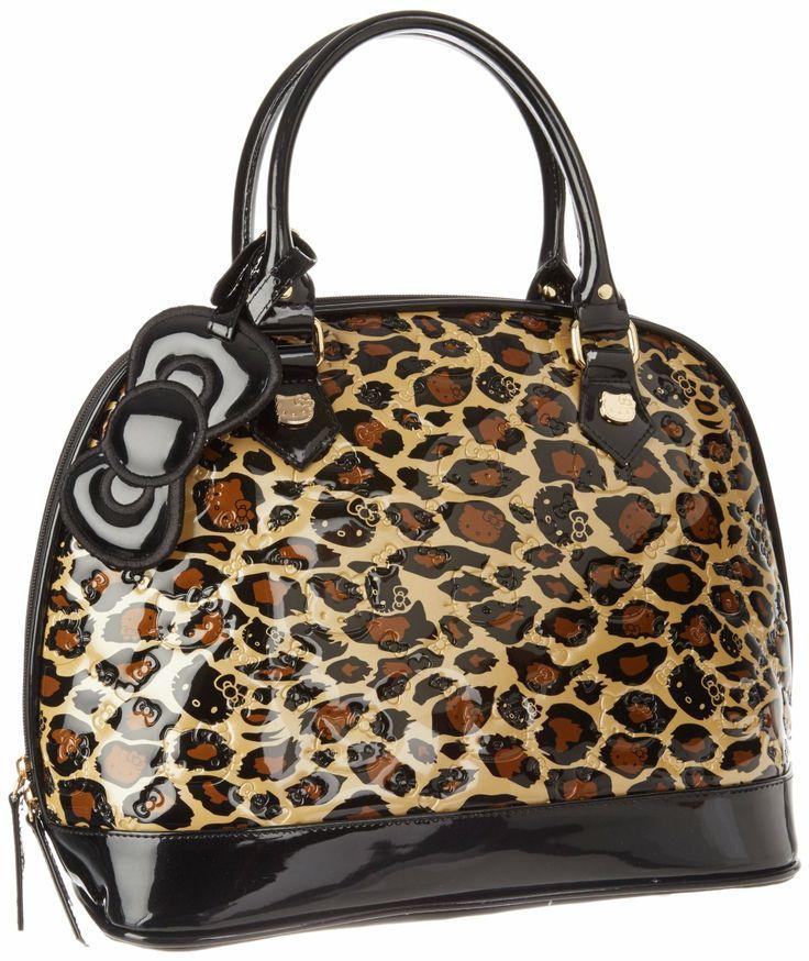Hello Kitty Leopard Bag