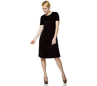 Pin to Win #SusanGraver Sweepstakes! {Ponte Knit Swing Dress} Enter here: http://sweeps.pinfluencer.com/QVC