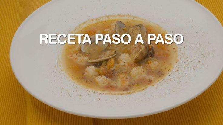 Sopa de pescado de Karlos Arguiñano - Paso a paso