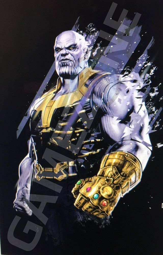 AVENGERS  INFINITY WAR   BLACK PANTHER Promo Art Spotlights Thanos ... 6576ca9e372