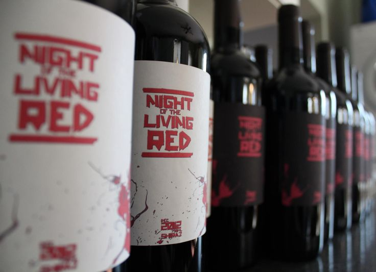 Undead Wine - Night of the living Red - Shiraz