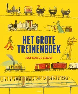 Het grote treinenboek | Lannoo