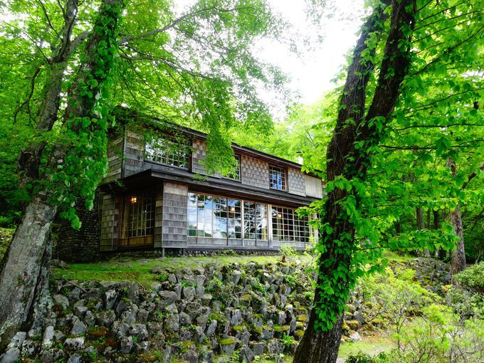 中禅寺湖イタリア大使館別荘記念公園 栃木