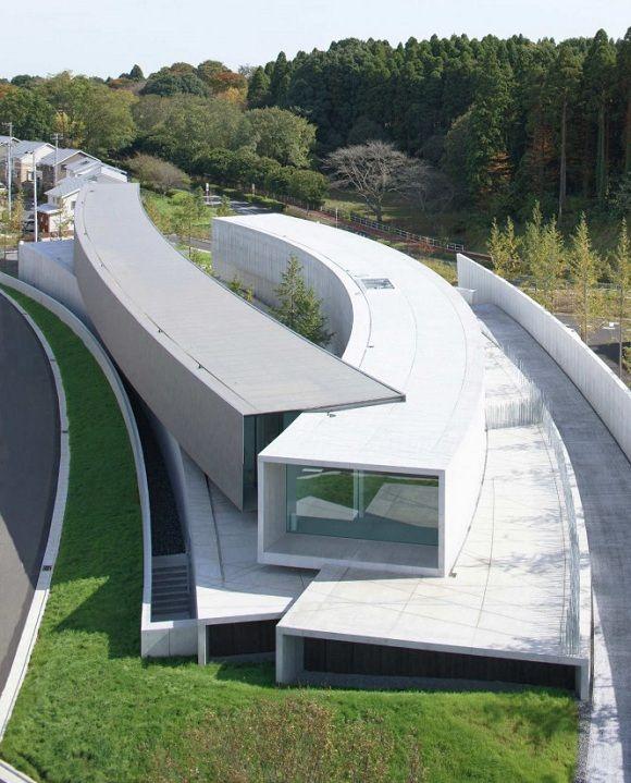 Minimalist architecture - Hoki Museum