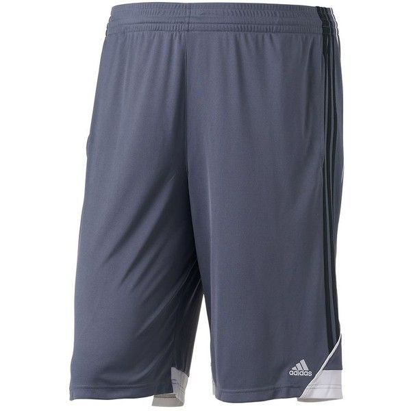 Big & Tall Adidas Climalite 3G Speed Performance Shorts ($22) ❤ liked on Polyvore featuring men's fashion, men's clothing, men's activewear, men's activewear shorts, black, mens activewear and mens activewear shorts