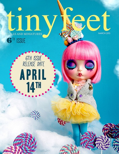 14th APRIL new Tiny Feet issue!