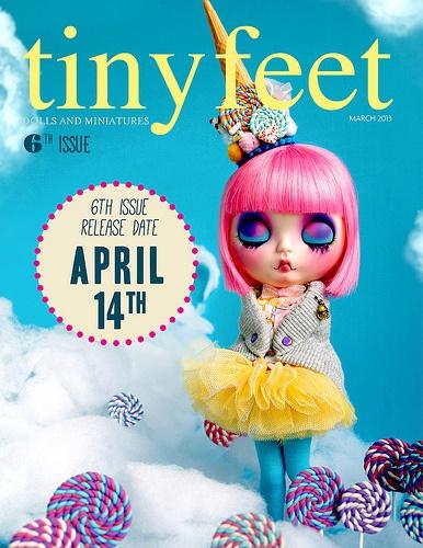 14th APRIL new Tiny Feet issue!