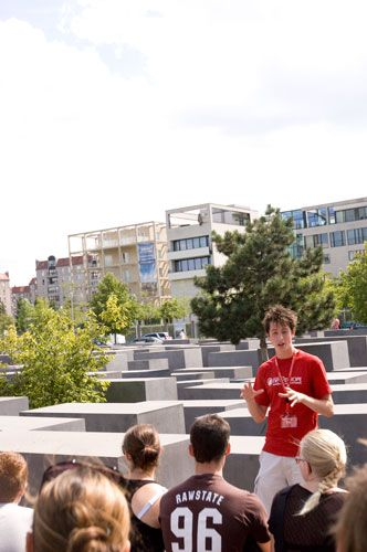 Free 3.5 hour walking tour of Berlin (covers almost all of the sights downtown) –– Super good; love them!