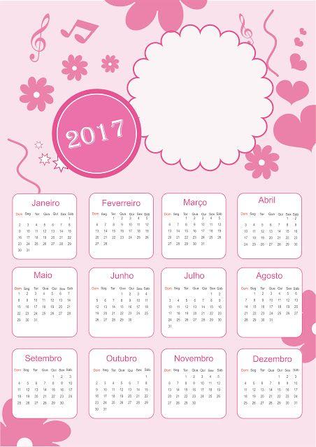 Calendário 2017                                                                                                                                                                                 Mais