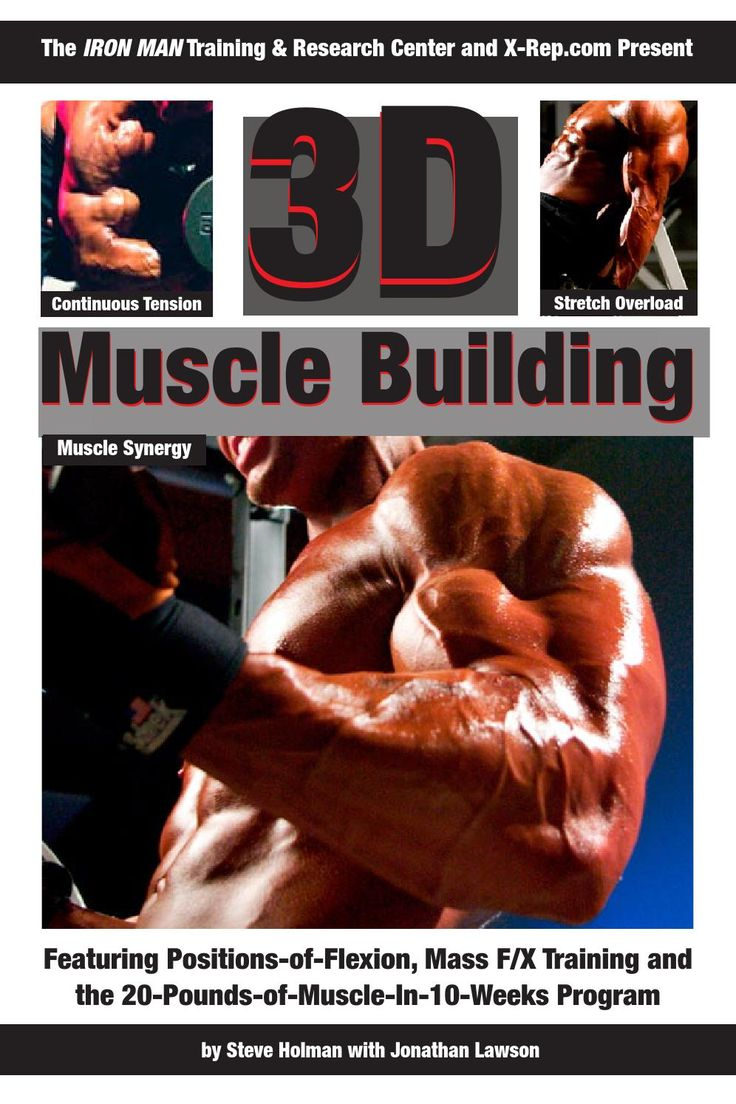 Iron Man Training Program: 3D Muscle Building