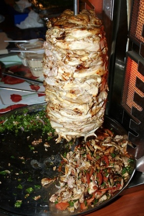 mouth watering shawarma