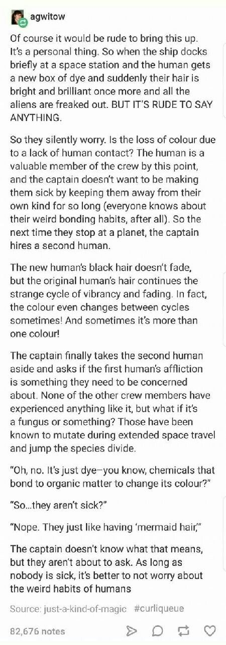 Aliens worrying about their human friends and trying to understand their habits is my new favorite thing