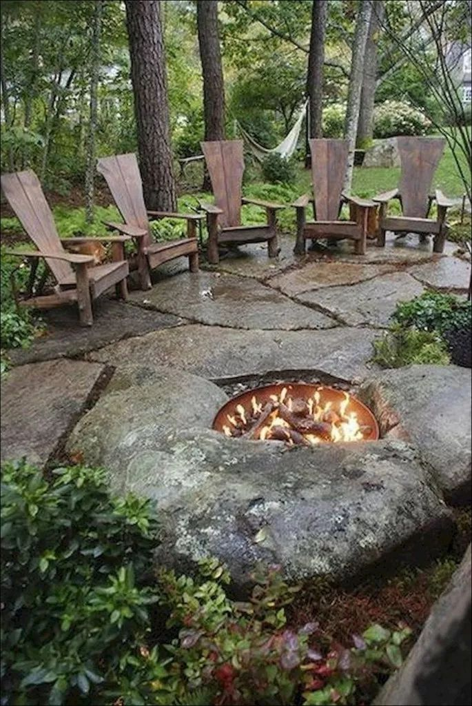 50 easy and functional diy firepit ideas to make your ...