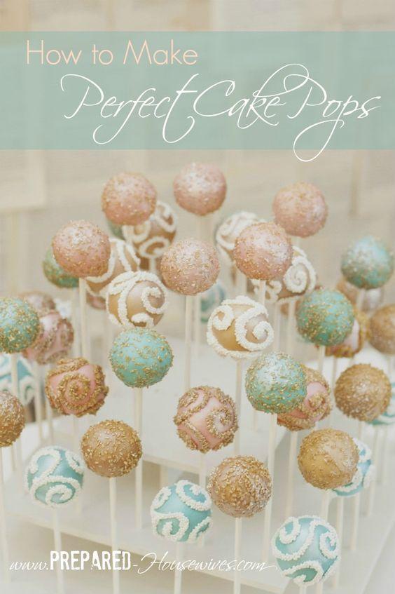 How To Make Glitter Swirls On Cake Pops