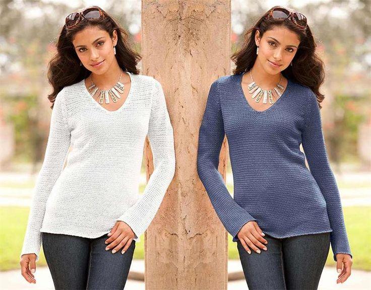 Женский свитер белого цвета хлопок