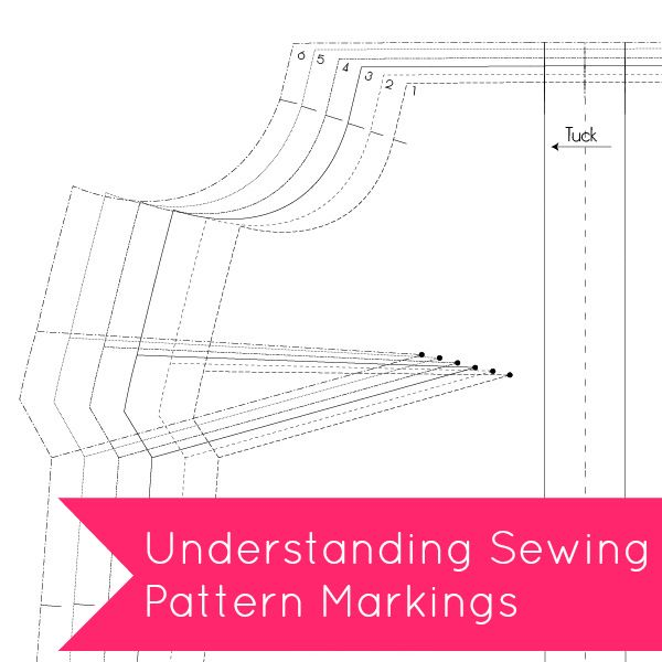 Tilly and the Buttons: Understanding Sewing Pattern Markings THIS HELPS SO MUCH!!!