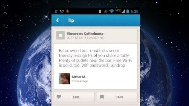 Chequea forsquare para obtener claves wi-fi de lugares