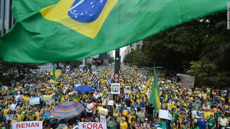 12/1/15 Current Event- Brazil's economy has been shrinking for three consecutive quarters. This quarter it shrunk yet another 1.7% making it the longest recession for Brazil since the 1930s. Also, inflation rose over 10%, the highest in 12 years and unemployment rose to 8.9%, up 6.8% previously. Things are not looking too bright for this former South American powerhouse.
