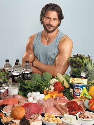 Alcide's diet.  I guess I have to eat like this to achieve his results.