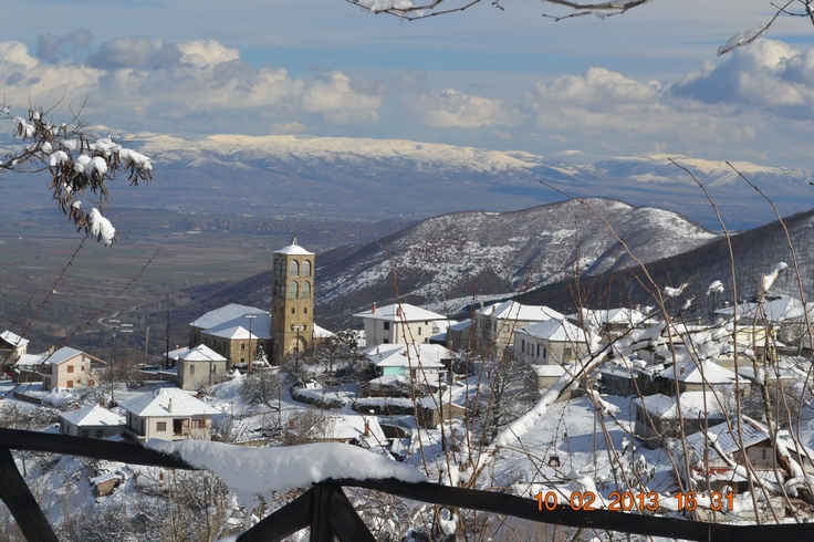 Klissoura, a highland village in Macedonia, North Greece