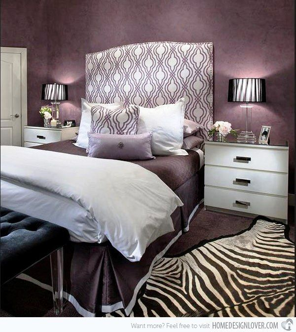 Zebra Rug Interior Design: 25+ Best Ideas About Purple Bedroom Design On Pinterest