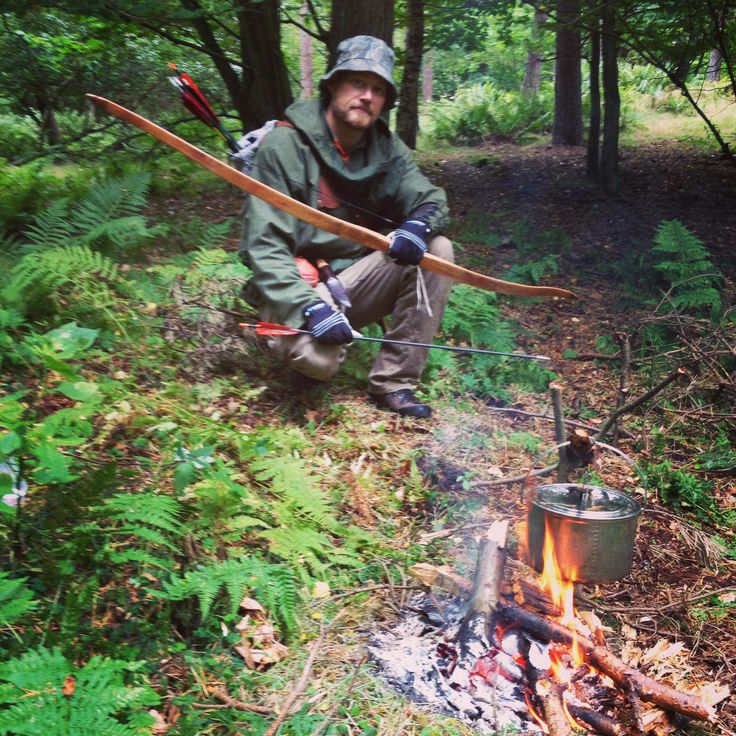 Combining bushcraft and archery