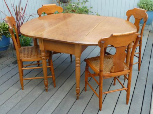 Antique Maple Dining Room Set Beautiful Maple Dining Room Chairs