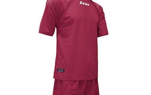 Zeus – Equipement football maillot + Short foot PROMO – Couleur : Grenat – Taille : M: KIT PROMO ZEUS - 100% POLYESTER - CONSTITUÉ DE VESTE…