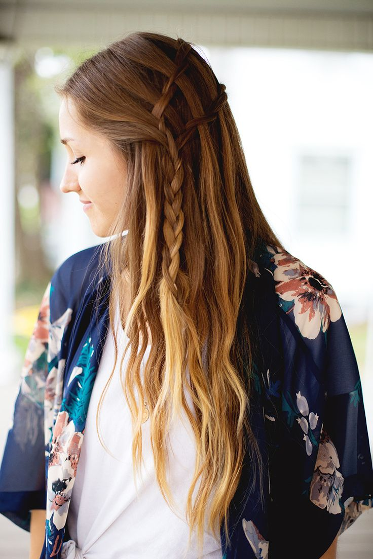 How To Style A (Double) Waterfall Twist - A Beautiful Mess