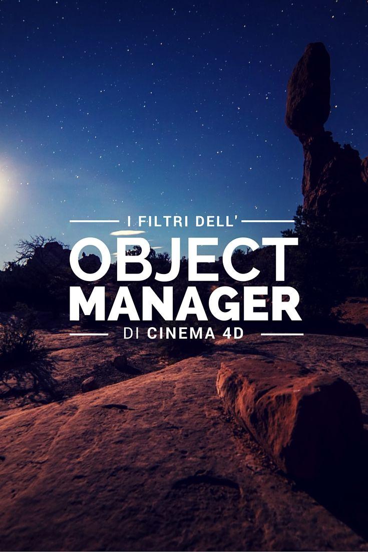 Scopriamo i filtri dell'object manager di Cinema 4D, sempre grazie a Carlo Macchiavello. Clicca qui per iscriverti subito al corso Cinema4D da noi: http://www.espero.it/corsi-cinema-4d?utm_source=pinterest&utm_medium=pin&utm_campaign=3DArchitecture