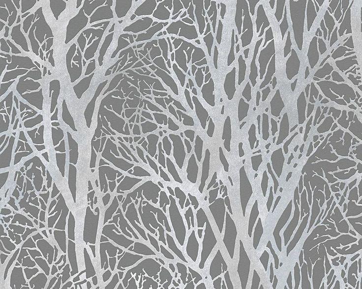 Tree Branch Steel Grey 30094-3 - Love 2 Wallpaper