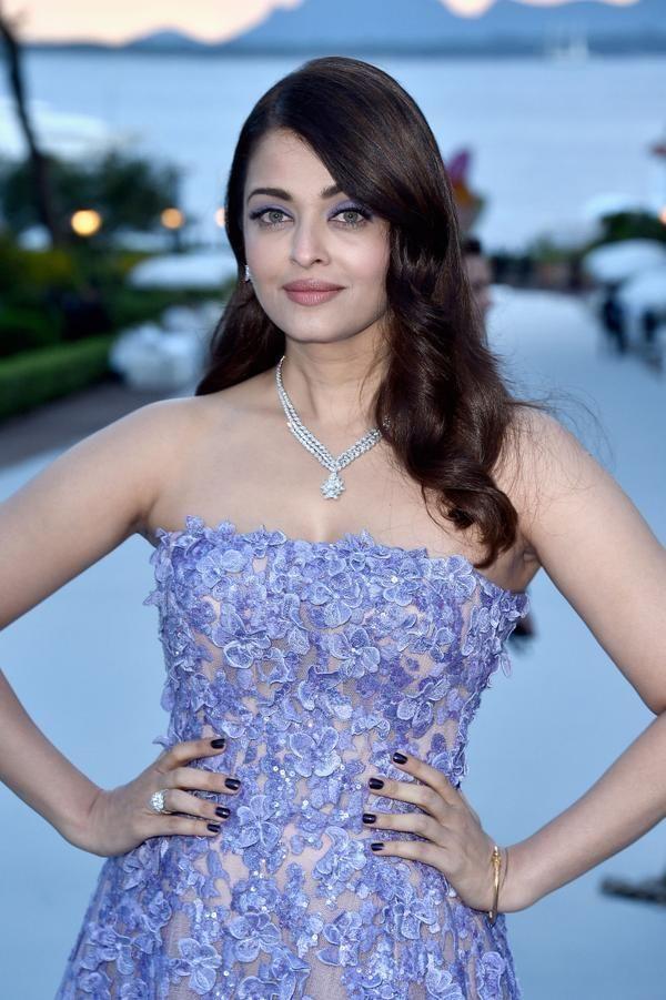 Aishwarya Rai Bachchan attends the amfAR gala at Cannes 2015 | PINKVILLA