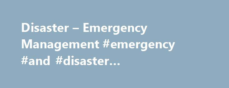 Disaster – Emergency Management #emergency #and #disaster #management #degree http://south-africa.remmont.com/disaster-emergency-management-emergency-and-disaster-management-degree/  # Quick Links Menus Future Students Disaster Emergency Management York is the first university in Canada to offer both a bachelor and a master's degree program in this field. Flooding, terrorism, global warming and hurricanes are all disasters and emergencies that can be effectively managed – and, in some cases…