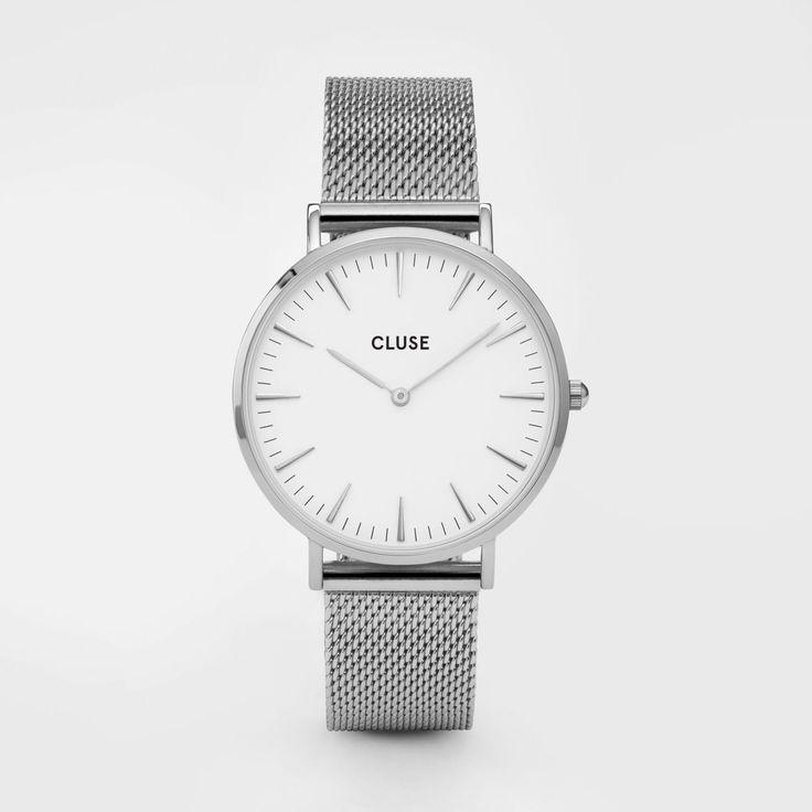 La Bohème Mesh Silver/White