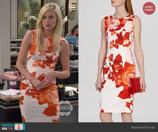 d g floral maxi dress 1980