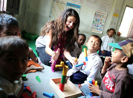 "In 2009, when she was just 17-years-old, Selena became the in the the youngest UNICEF Ambassador in the history of the organization. About her role as ambassador, Selena said, ""Every day 25,000 children die from preventable causes. I stand with UNICEF in the belief that we can change that number from 25,000 to zero. I know we can achieve this because every moment, UNICEF is on the ground providing children with the lifesaving assistance needed to ensure zero becomes a reality."""